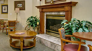 Services and amenities for senior living residents at Ashland Villa.