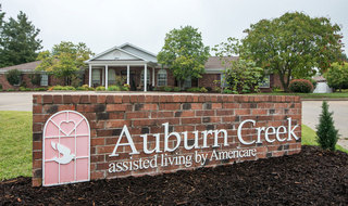 Cape girardeau assised living community sign