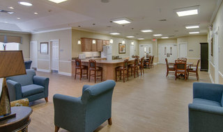 Hutchinson senior living memory care building interior