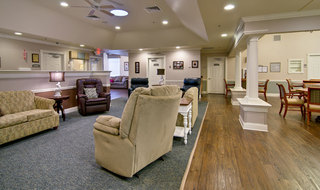 Building interior at spring hill memory care community