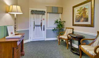 Interior spring hill memory care community building