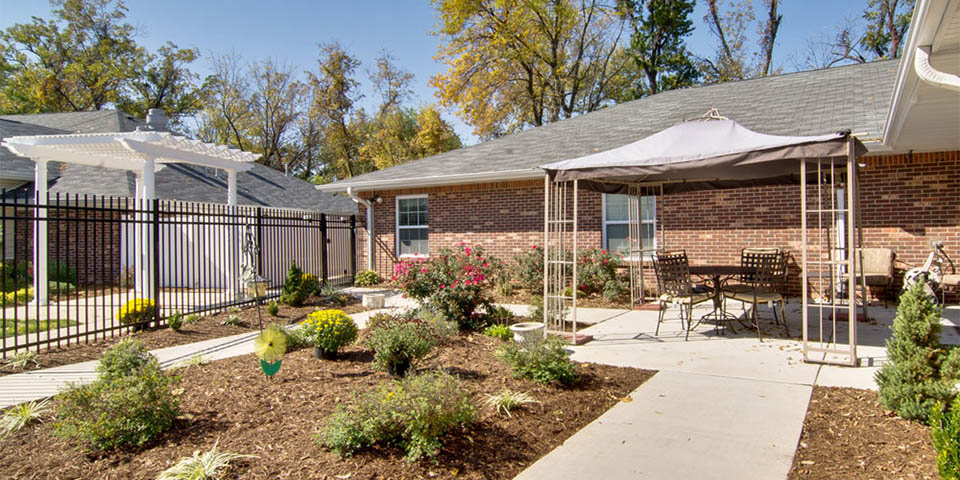 Our memory care community in Saint Peters, MO.