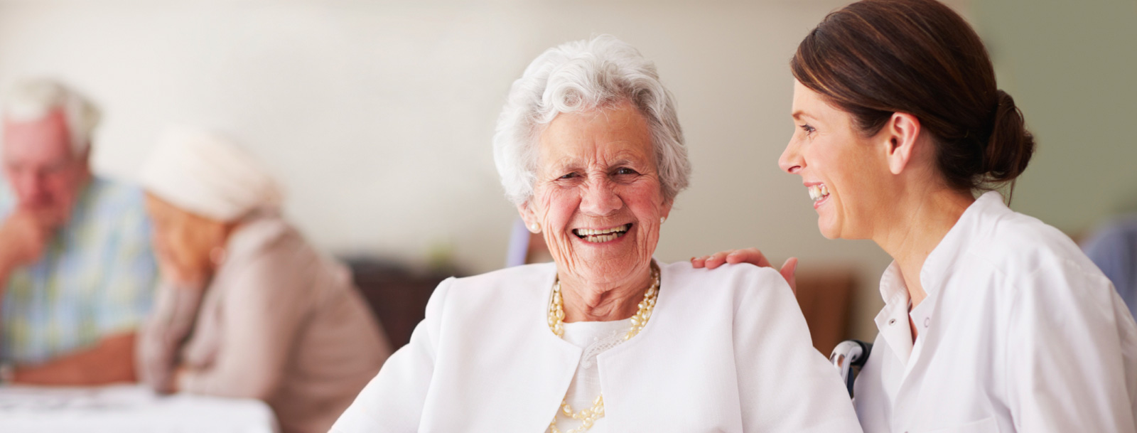 Skilled nursing at the senior facility