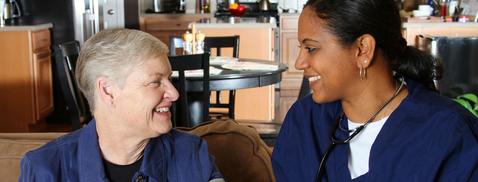 Home health care services at the senior facility
