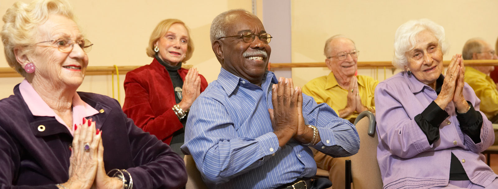 Health and wellness programs at the senior facility