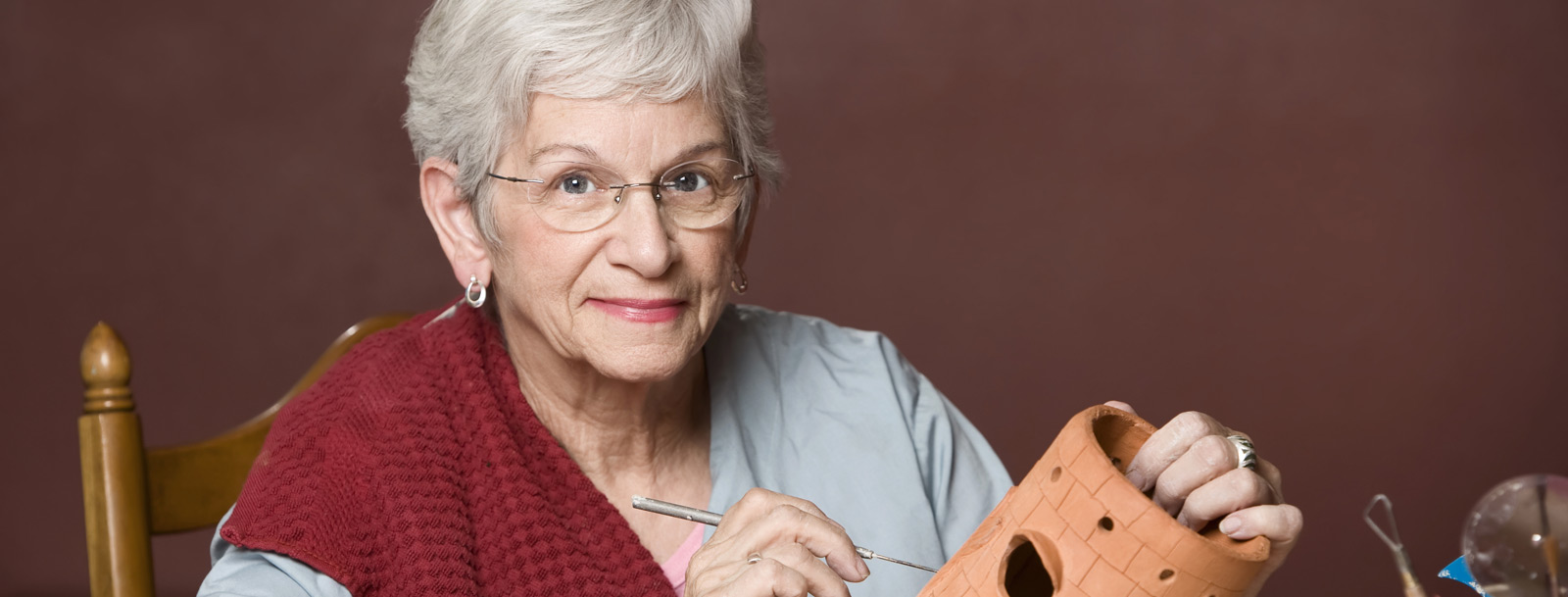 Art is ageless programs at the senior facility