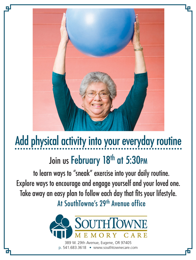 SouthTowne February support group