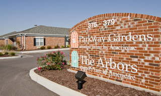 Fairview heights memory care parking lot entrance