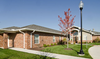 Memory care living area in fairview heights