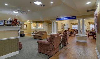 Memory care lobby in smyrna