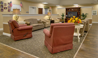 Common area at memory care in olive branch