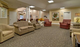 Gathering area at olive branch memory care