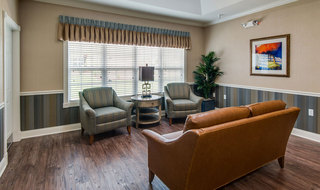 Meeting area at quincy memory care
