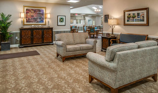 Quincy memory care lobby
