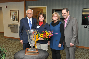 The Wiker Award at Randall Residence Senior living.
