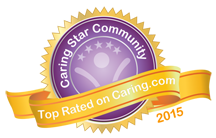 Discovery Memory Care Caring Star Award