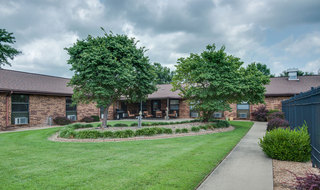 Chaffee skilled nursing back lawn