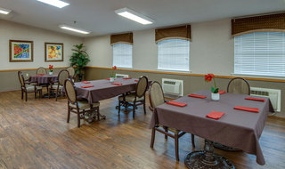 Chaffee skilled nursing dinning set