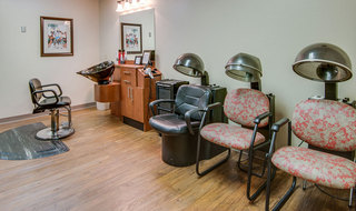 Chaffee skilled nursing hair salon