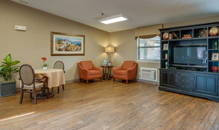Chaffee skilled nursing tv lounge