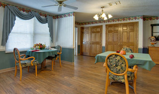 Community area at marceline skilled nursing