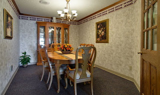 Private dinning at marceline skilled nursing
