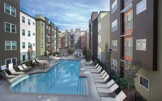 Jmg student housing project pool