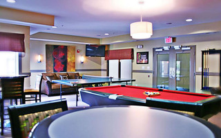 Student housing with jmg pool table