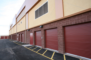 Drive up units at st george self storage