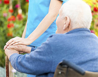memory care and other senior living services provided by Chestnut Terrace in Saint Peters.
