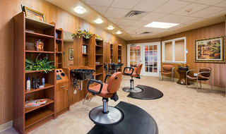 Salon senior living facility wichita