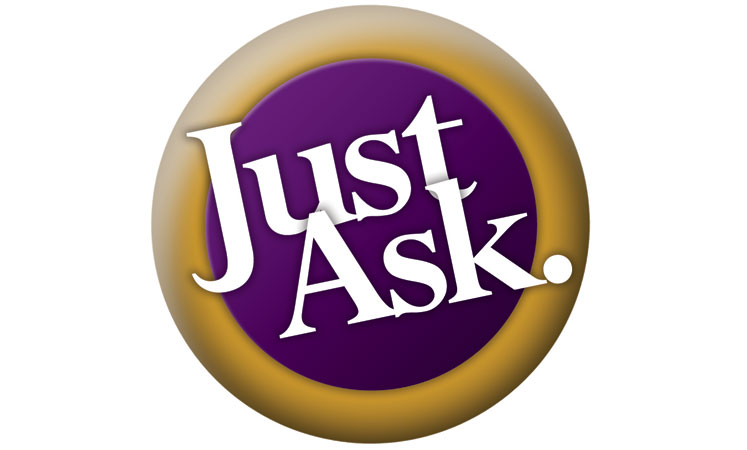 Just ask logo at the senior living in Wichita