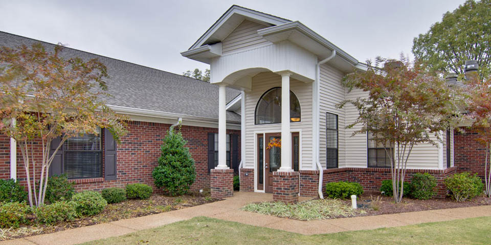 Our memory care community in Olive Branch, MS.