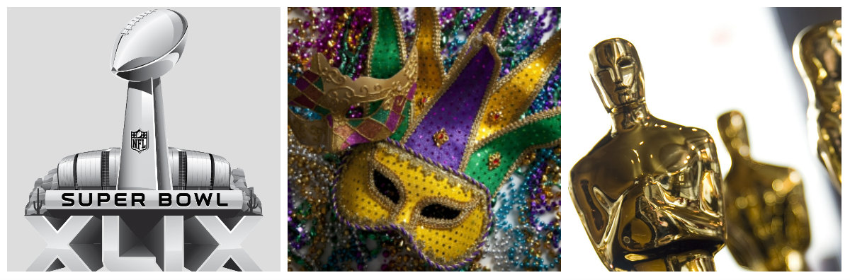 Super Bowl, Mardi Gras And Much More Celebrated During February