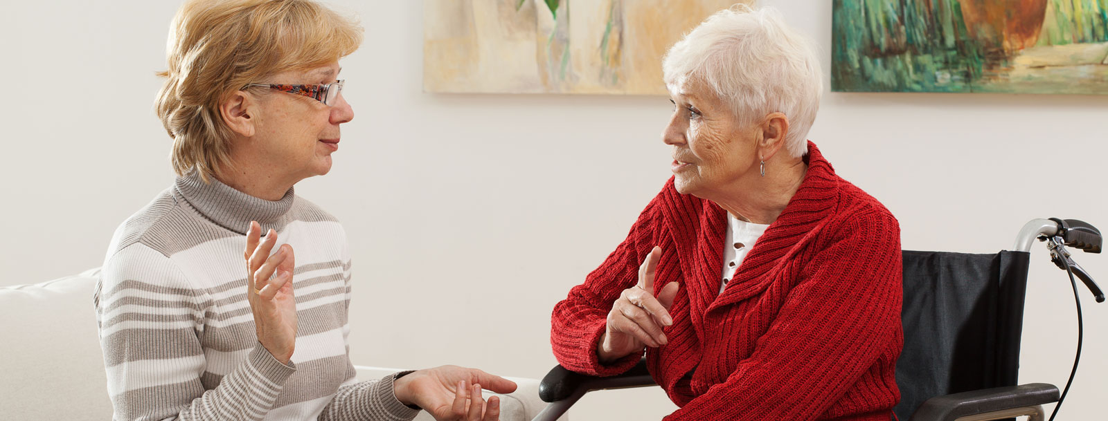 Respite care services at the senior living facility in Wichita