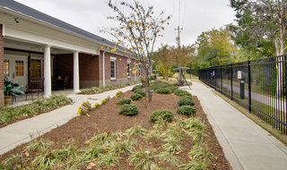 Collierville memory care community landscaping