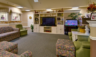Interior of collierville memory care community building