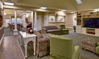 Memory care building in collierville