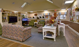 Memory care community area in collierville