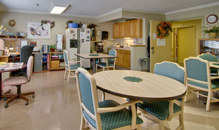 Office and kitchen in farmington at skilled nursing