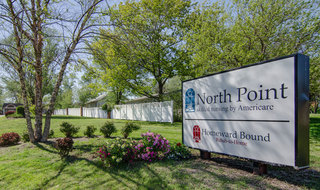 Paola skilled nursing front lawn