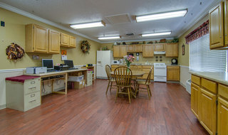Kitchen at osage city skilled nursing