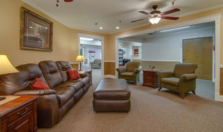 Osage city skilled nursing tv lounge