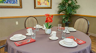 Amenities featured at Chaffee Nursing Center in Chaffee, MO.