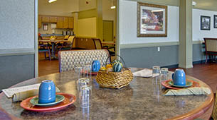 Amenities featured at Heritage Hall in Centralia, MO.