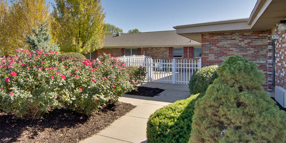 Our skilled nursing community in Centralia, MO.