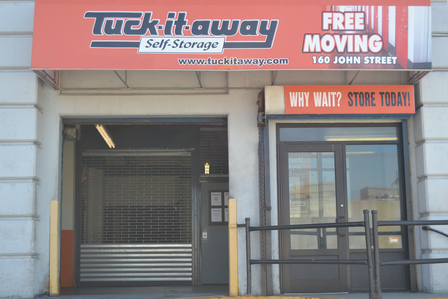 Storage units sizes and pricing at Tuck-It-Away Self-Storage in Brooklyn