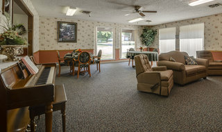 Sabetha senior living lounge area for skilled nursing