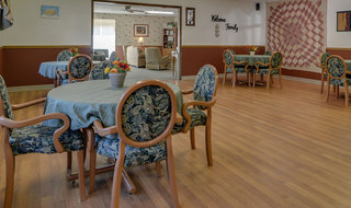 Sabetha skilled nursing dining area