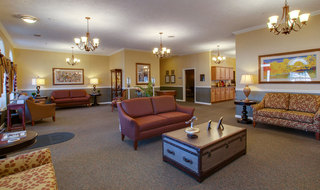 Senior living in sabetha skilled nursing lobby